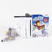Nintendo Wii Bundle White Console RVL-101 - w/ Controller & Game