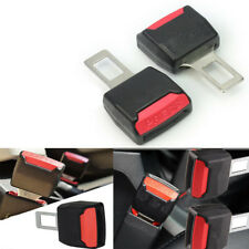 "2Pcs Universal Car Seat Seatbelt Safety Belt Clip Extender Extension 7/8"" Buckle"