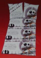 Star Wars BB-8 Renforce Wende Bettwäsche Set 100% Baumwolle 135x200cm
