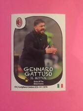 FIGURINA STICKER CALCIATORI PANINI 2017/18 AGGIORNAMENTI M35 GATTUSO MILAN