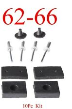 GMC 0848-001 Truck With Antenna Hole 60 66 Chevy Side Cowl Set 0848-004