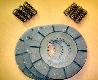 BSA BANTAM D1 D10 TRIALS CLUTCH PLATES x 3 WITH HEAVY DUTY SPRINGS - A903/C904