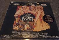 """""""Lucky Lady"""" SEALED NM SOUNDTRACK LP W/HYPE STICK Burt Reynolds, Gene Hackman"""