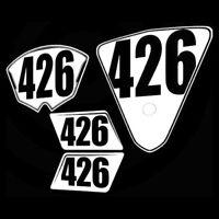 R6 Numberplates Raceplates 2008-2016 yamaha R6 trackday racing number plates