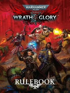 WRATH & GLORY RULEBOOK - WARHAMMER 40,000 ROLEPLAY - CUBICLE 7- NOW