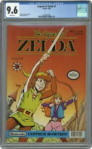 Legend of Zelda 1A Barcode On Right Variant CGC 9.6 1990 2070483009