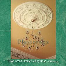 4ft large grand ornate Plaster Ceiling Rose 109cm dia Plasterwrx free delivery