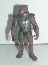"""Star Wars Chewbacca 1996 Shadows of the Empire SOTE POTF2 3-3/4"""" Scale"""
