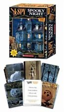 NEW 2007 SCHOLASTIC I SPY SPOOKY NIGHT 2 IN 1 MEMORY RIDDLE CARD GAME HALLOWEEN