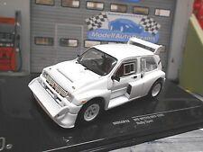 MG Metro Austin 6R4 Gr.B Rallye weiss white + 4 Ersatzräder Plain body IXO 1:43