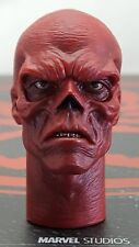 Genuine 1/6 Hot Toys MMS167 Avenger Captain America's Red Skull head sculpt Only