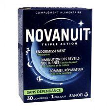 Sanofi Novanuit Triple Action Caps for Sleep disorders  - New 30 day treatment