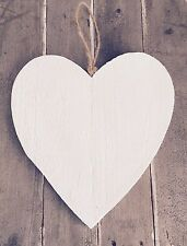 Rough Vintage Style Wooden Heart