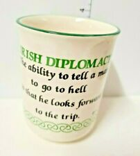 Funny Irish Mug Irish Coffee Cup IRISH Diplomact