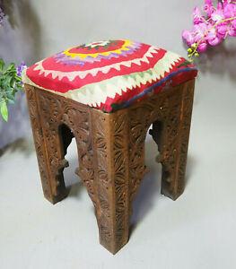orientalische Suzani Hocker Stuhl Sitzhocker Sitzkissen cushion Stool Pouf  Nr:B