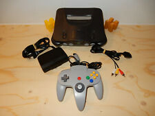 NTSC-US Nintendo 64 Charcoal Grey Console with Controller USA American N64