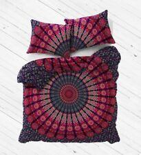 Mandala Duvet Cover Set Indian Bohemian Boho Cotton Queen Quilt Bedding Christma