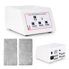 Sauna Blanket infrarouge lointain Sapin 3 zones de perte de poids detox minceur Spa Machine