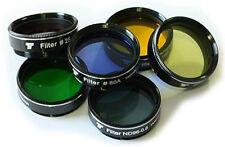 "hochwertiges Teleskop Farbfilter-Set  6 Filter 1,25""  für  60 -130mm, TSFi16k"
