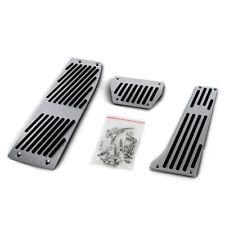 Alu Pedale Set Automatik + Fußstütze für BMW E34 E39 E60 E61 E32 E38 E63 E64