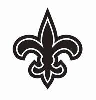 New Orleans Saints NFL Football Vinyl Die Cut Car Decal Sticker - FREE SHIPPING