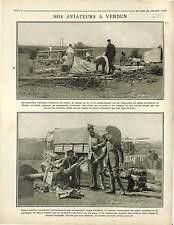 aircraft Avion SPAD S.VII Escadrille de Chasse bataille de Verdun Obus 1916 WWI