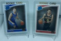 2018-19 Donruss Luka Doncic Rated Rookie Card RC #177 Trae Young #198 LOT! PSA!