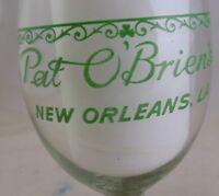 Pat O'Brien's Hurricane Glass HAVE FUN O'Briens Logo New Orleans LA Souvenir VTG