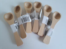 1 No. Wooden Sugar Spoon. Beech Wood. Catering or Restaurants