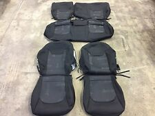 FACTORY OEM CLOTH SEAT COVER COVERS BLACK 2015 2016 JEEP RENEGADE SOLID REAR