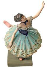 Degas Green Ballerina Dancer in Tutu Danseuse Verte Statue by Degas Figurine