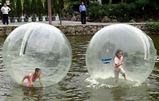 CE 2 M Walk on Water Walking Ball Rouleau boule gonflable Zorb Ball TIZIP Fermeture Éclair