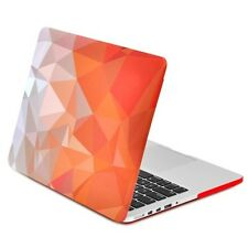 "Orange Geometric Abstract Case for MacBook Pro13"" w. Retina Model A1425 & A1502"