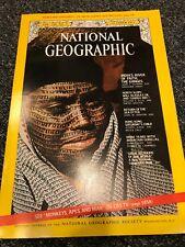October 1971 NATIONAL GEOGRAPHIC Magazine HONG KONG