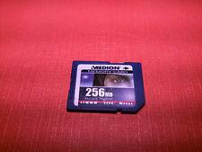 Medion memory card 256MB SD secure digital 256 mb