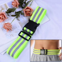 High Visibility Reflective Security Safety Belt Running Jogging Walking Biking U