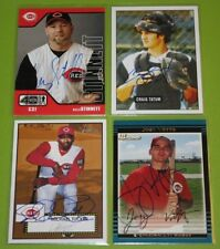The Smoky Collection | Cincinnati Reds N-Z In Person Autograph Auto | You Pick