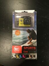 Sports Cam Waterproof 30M Full HD 1080P Wide Angle Lens 140 Degree 1.5in LCD