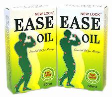 2 Packungen Original NEU Schloss Leichtigkeit Öl ätherisches Öl für Massage woodlock