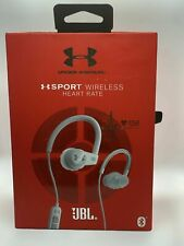 JBL Under Armour Sport Wireless In-Ear Headphones with Heart Rate Monitor White