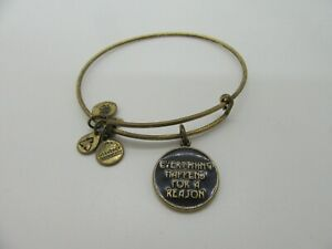 Alex and Ani 'Everything Happens for a Reason' Charm Bangle
