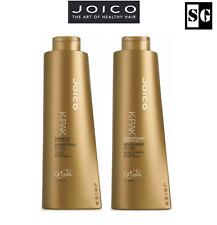 JOICO K-PAK Repair Shampoo Conditioner Duo for Damaged Hair - 1L 1000ml EACH