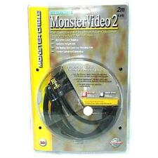 Monster Cable Fiber Optic Audio and S-Video Cable Kit - 2 Meter (6.56 Ft)