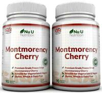 Montmorency Cherry 90 Capsules x 2 bottles Not Extract Freeze Dried no fillers