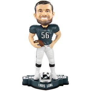 Chris Long Philadelphia Eagles Super Bowl LII Champions Bobblehead NFL
