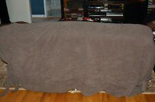 sofa slip cover large gray 84 inch
