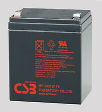 CSB HR 1221W F2 Lead Acid Battery 12V 21W Non-Spillable