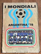 Album sticker Lampo ARGENTINA 78 COMPLETE figurine cromos mexico 70 wc 74 78 wm
