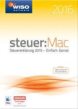 Download Version WISO steuer:Mac 2016 für die Steuererklärung 2015