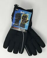 HOT HEADZ POLAREX Battery Powered Heated Ski Gloves, Black, One Size Fits Most